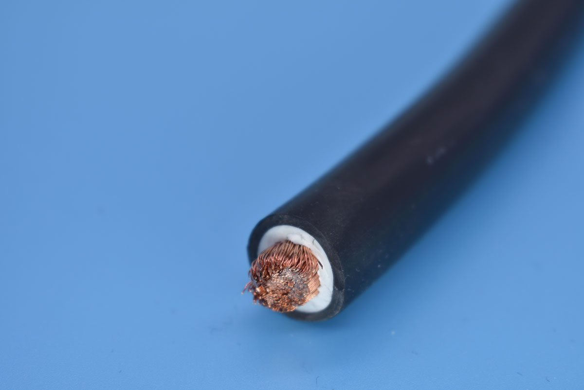 Pure copper conductor pvc sheath welding cable